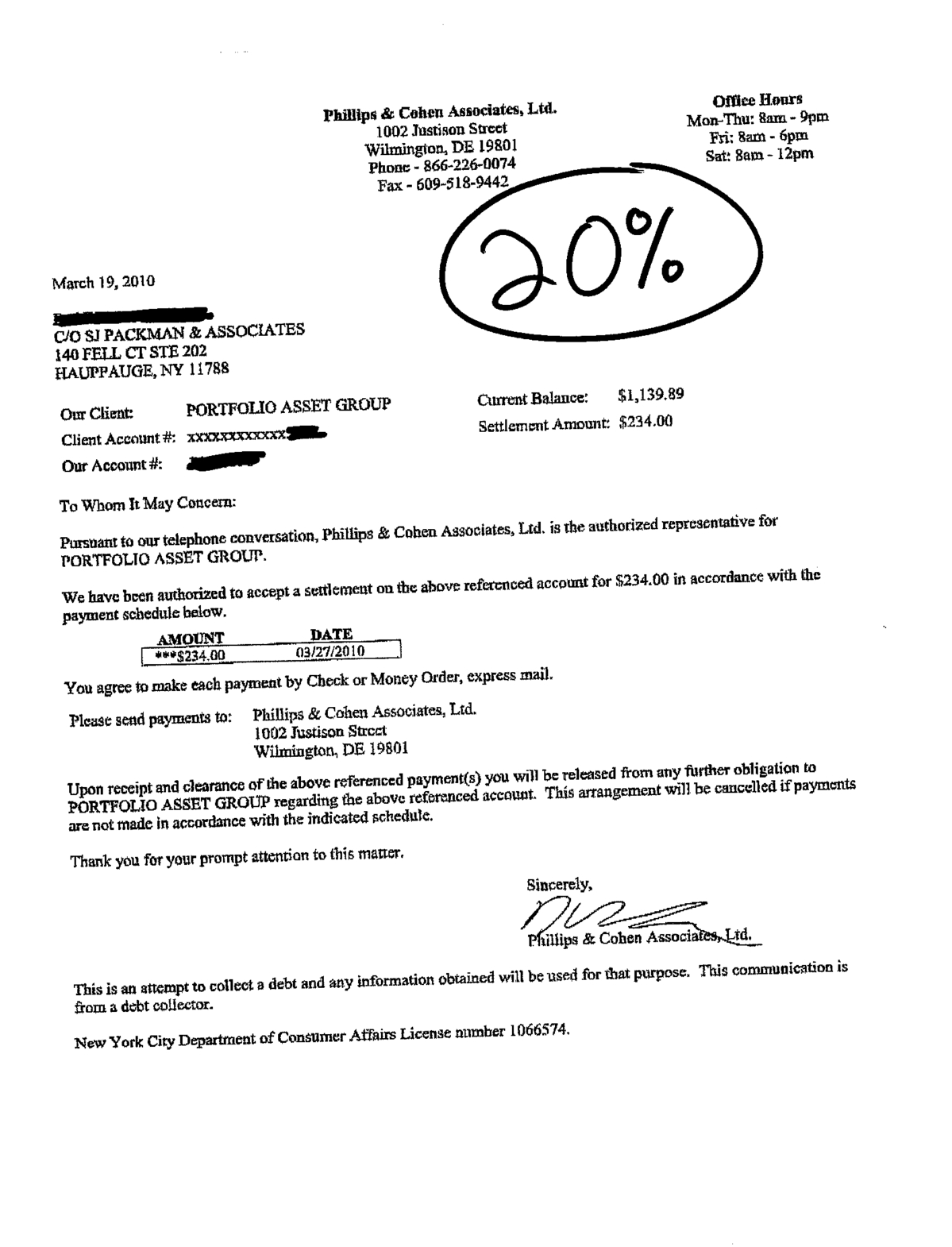 Debt Settlement Letter Sles Pdf   Images  Picture  Of  Debt